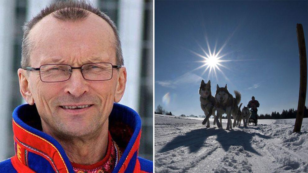 Lars-Jon Allas, sametingsledamot för Guovssonásti.