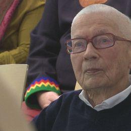 En av de samiska förkämparna, Lars Thomasson, har nått 90 år