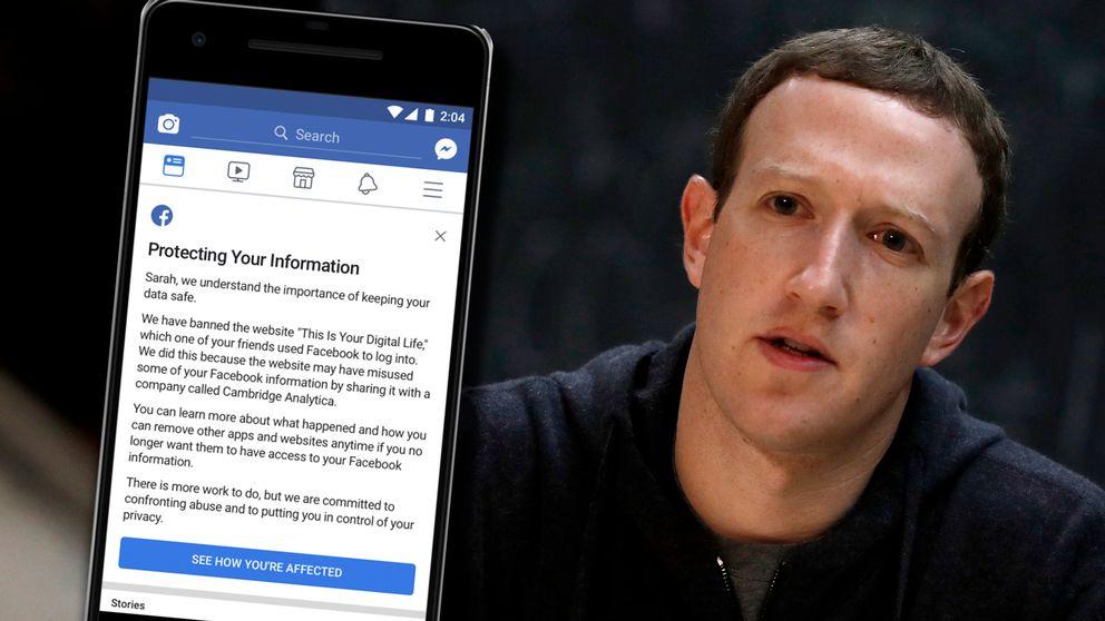 """""""Se hur du har drabbats"""" står det på knappen i botten av inlägget, som är tänkt att dyka upp i användares Facebook-flöden under 9 april."""