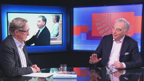 Tidigare partiledaren för Liberalerna, Lars Leijonborg, intervjuas om sina memoarer.
