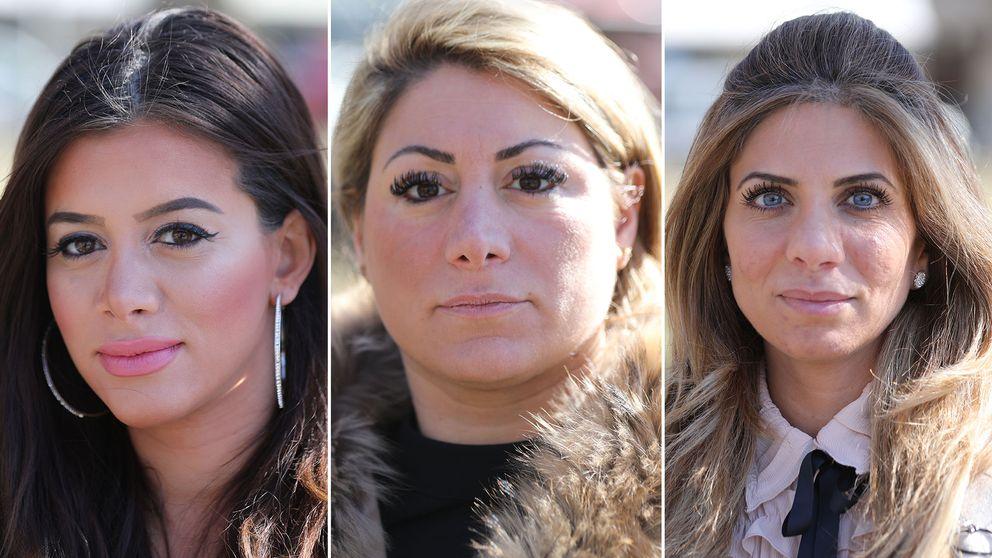 Dalia, Cecilia och Gabriella drabbades alla svårt av plastikkirurgens oskicklighet