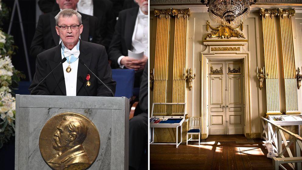 Nobelstiftelsens ordförande Carl-Henrik Heldin