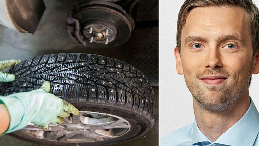 SVT:s meteorolog Lasse Rydqvist tror på våren.