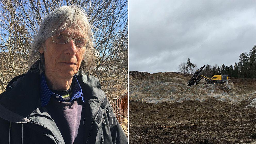 Lars Klasén är chockad över hur bygget på Skarlunda gått till.