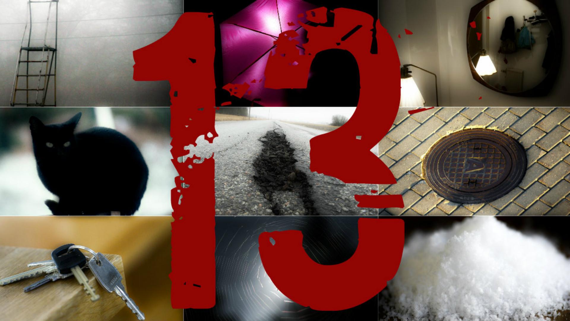 Fredag den trettonde 13 otur otursdag