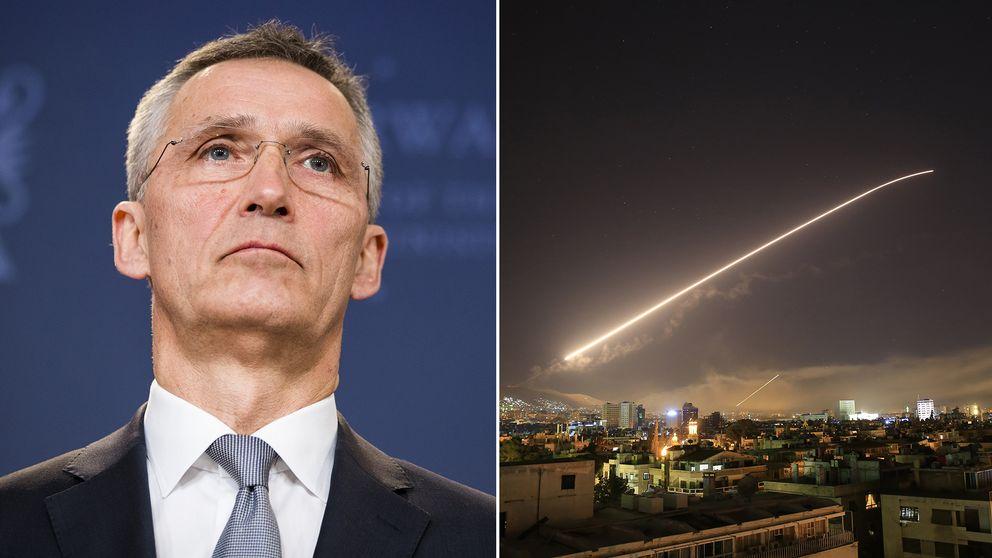 Försvarsalliansen Natos generalsekreterare Jens Stoltenberg.