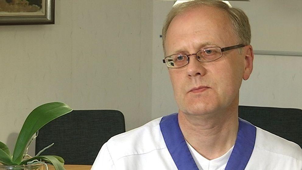 Bengt Wittesjö arbetar som smittskyddsläkare på Blekingesjukhuset.