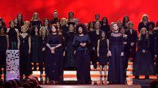 På Guldbaggegalan 2018 var många gäster klädda i svart för att manifestera mot sexuella trakasserier.