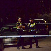 En omfattande polisinsats inleddes i Ödeshög under onsdagskvällen, Åklagarmyndigheten bekräftade under natten att en person anhållits på sannolika skäl misstänkt för mord.