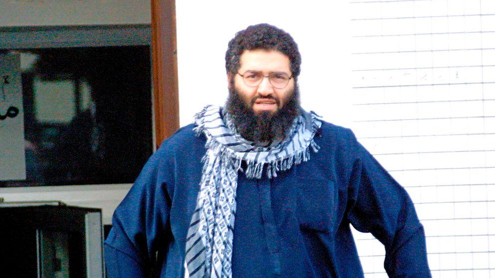 Mohammad Haydar Zammar i Tyskland i oktober 2001. Enligt en kurdisk militärkälla har Zammar, misstänkt för koppling till 11-septemberdåden, gripits i Syrien. Arkivbild.