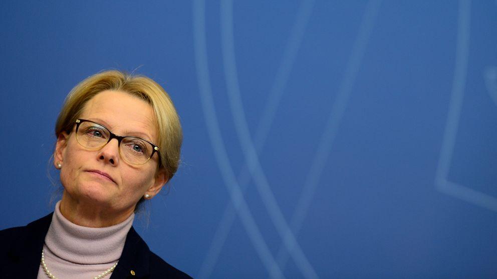 Migrtionsminister Heléne Fritzon.
