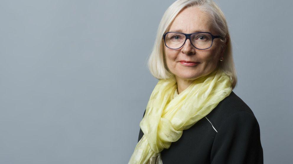 Karina Folkesson är regionchef på Svenskt näringsliv i Västerbotten
