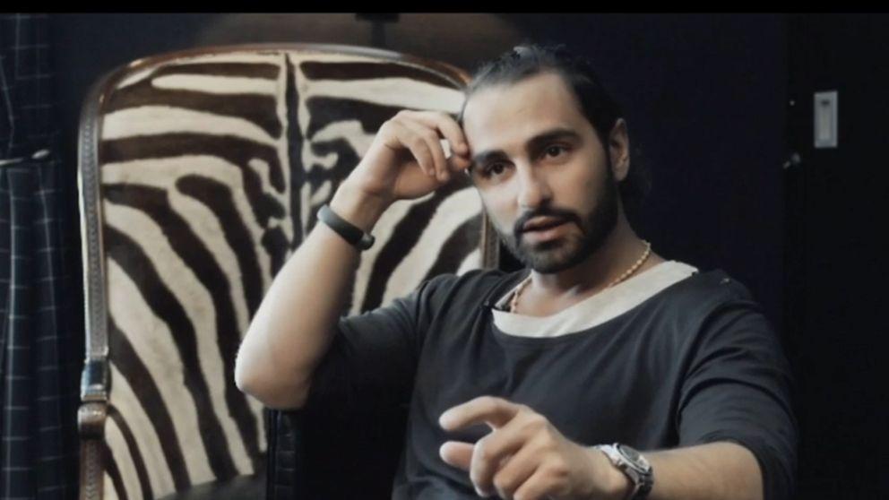 Aviciis tidigare manager Arash Pournouri.