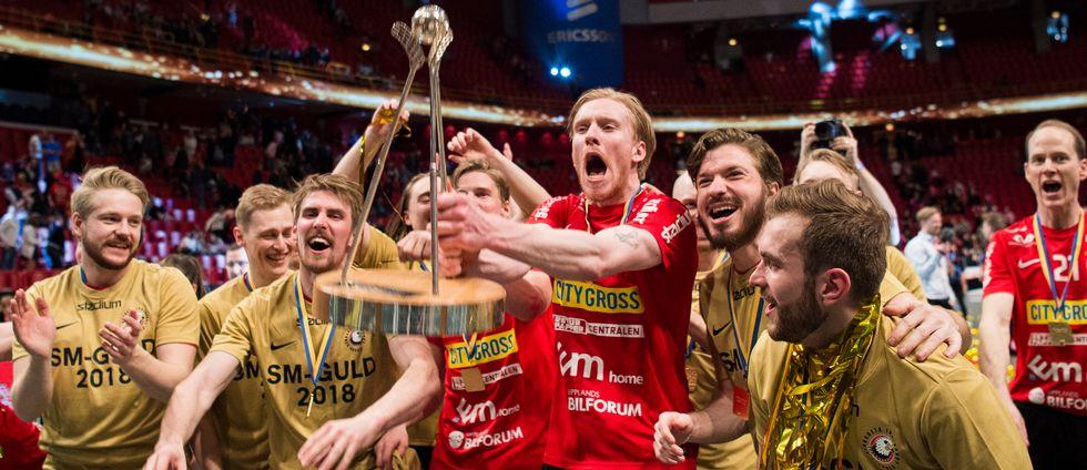 Storvreta-jubel efter finalen.