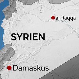 Den syriska staden al-Raqqa är svårt skadad efter flera år av krig där terrororganisationen Islamiska staten haft kontrollen.