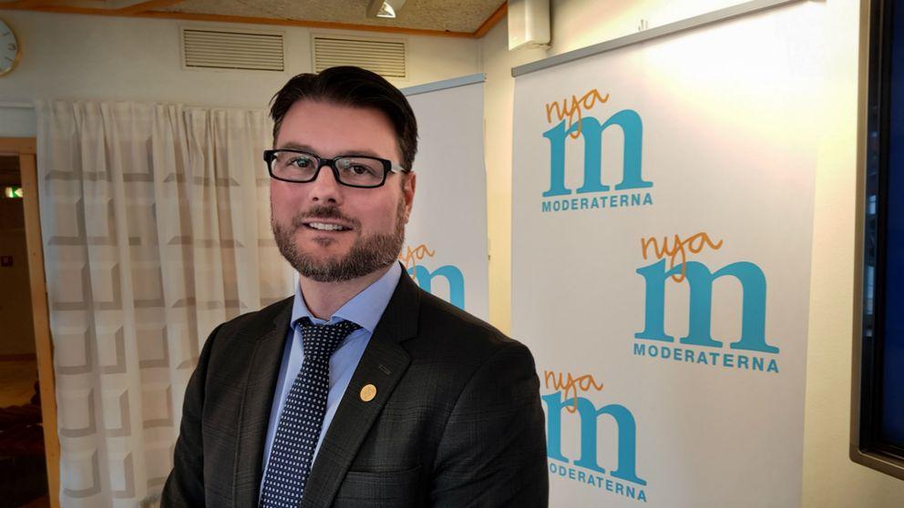 Edward Riedl är moderat riksdagsledamot från Västerbotten