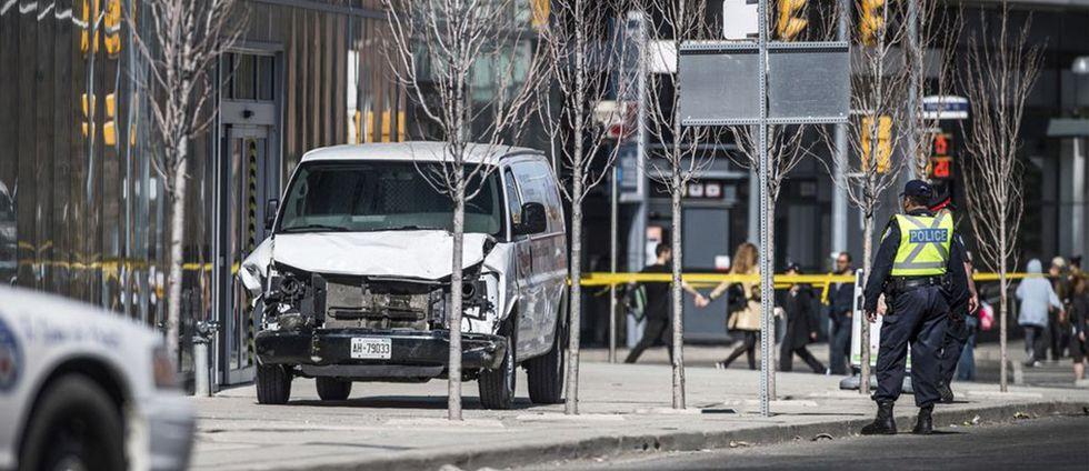 Torontoföraren ville bli ihjälskjuten