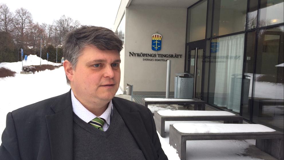 Fredrik Beijar, kammaråklagare vid åklagarkammaren i Nyköping.