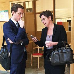 Linköpings tingsrätt mantorp dubbelmord försvarsadvokaten Henrik Lindblom och åklagare Helene gestrin