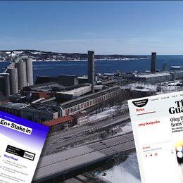 Nu försöker Kubals ryska ägare Oleg Deripaska blidka det amerikanska finansdepartement genom att minska sitt inflytande i aluminiumjätten Rusal. Samtidigt agerar facket IF Metall för lösa krisen för aluminiumsmältverket i Sundsvall.