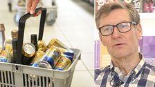 Se överläkare Peter Allebeck ge tips på hur du undviker att dricka för mycket.