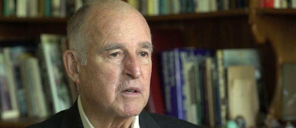 Kaliforniens guvernör Jerry Brown