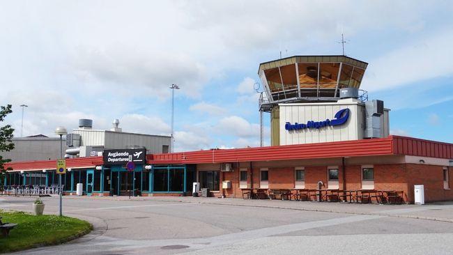 Minskat antal flygpassagerare från Örebro flygplats
