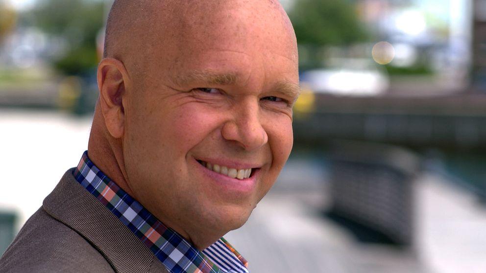 SVT-profilen Lasse Kronér.