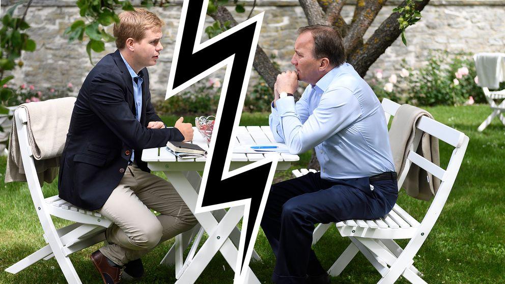 Sprickan mellan MP och S blir tydligare när valet närmar sig och båda partierna vill profilera sig.