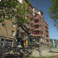 Nybyggnation i Uppsala. Men nu skjuts andra bostadsprojekt i staden upp.
