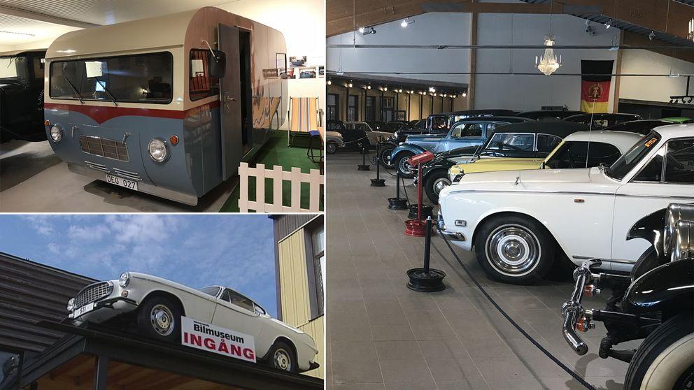 bildcollage bilmuseum