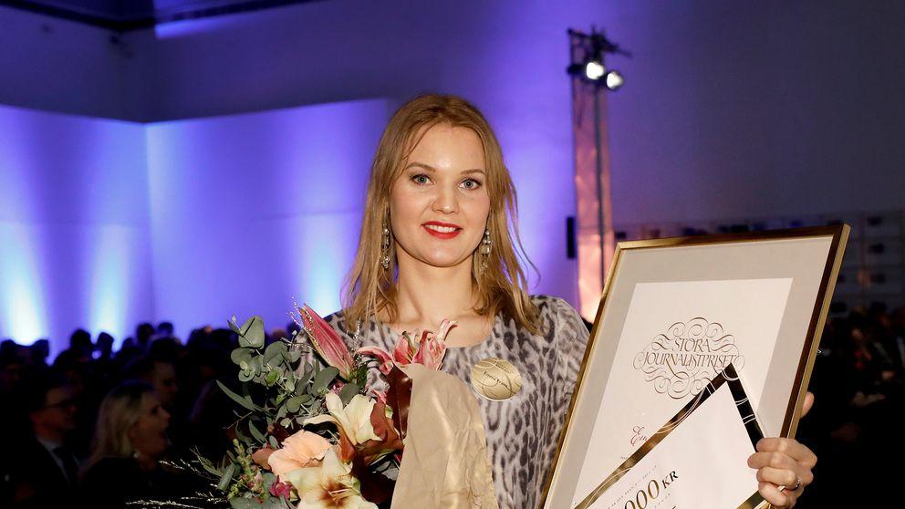 Emma Frans har bland annat tilldelats priset årets röst när Stora journalistpriset delades ut 2017, nu är hon klar för SVT Nyheter.