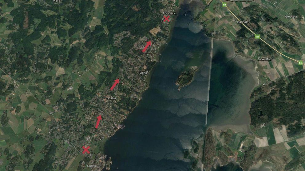karta över nya onsalavägen Ny Onsalaväg får klartecken | SVT Nyheter karta över nya onsalavägen