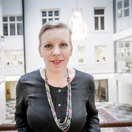 Maria Rankka, vd för Stockholms handelskammare.