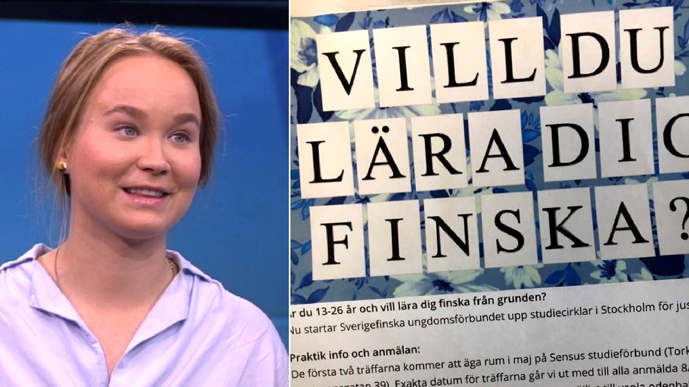 Finskastudiecirklar för sverigefinska ungdomar
