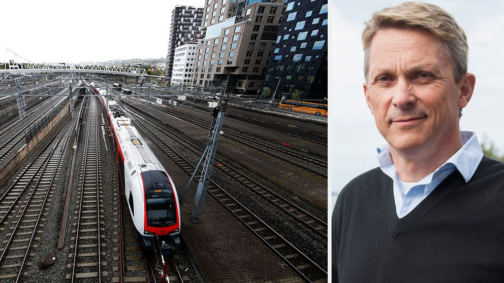 På onsdagen flydde resenärerna från hettan på ett tåg efter att ha suttit instängda flera timmar. Presschefen på Trafikverket, Bengt Olsson, förklarar varför man inte få lämna tåget på eget initiativ.