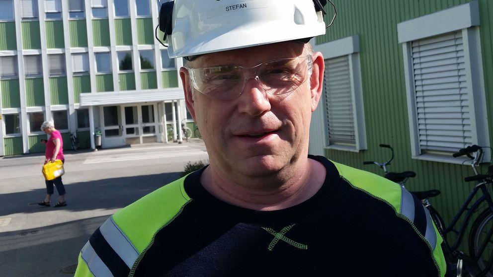 Stefan Sandberg, platschef Södra Cell i Mörrum.