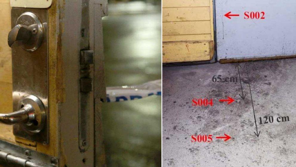 En dörr som står på glänt till ett förråd.