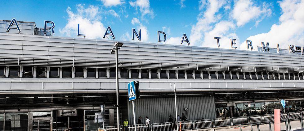Arkivbild: Terminal 5 på Arlanda flygplats.