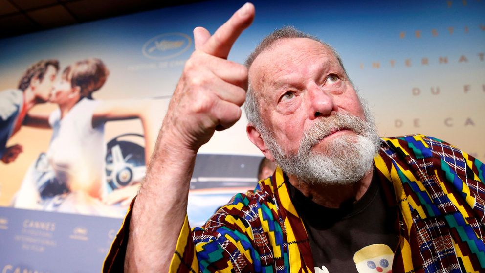 "Regissören Terry Gilliam premiärvisade ""The man who killed Don Quixote"" på filmfestivalen i Cannes."