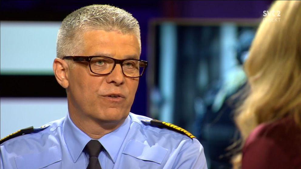Sveriges nye rikspolischef Anders Thornberg gjorde sin första intervju med SVT i söndagens Agenda.