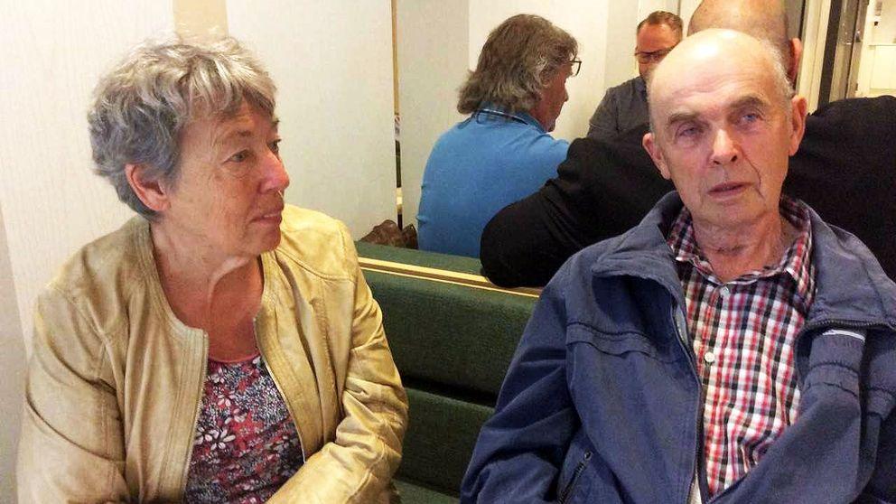Barbro och Torbjörn Sundström blev vittnen till dödsolyckan