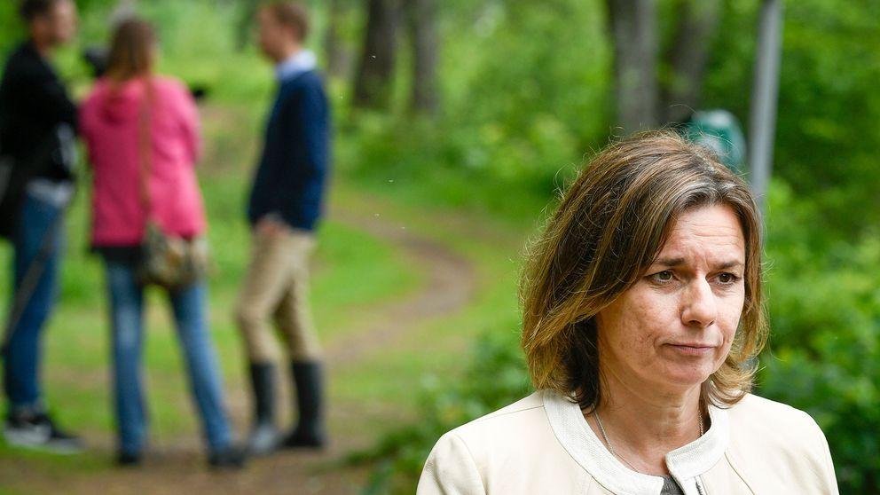 Sveriges klimatminister Isabella Lövin (MP).