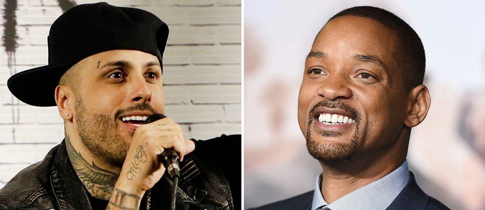 Reggaeton-artisten Nicky Jam och hiphop-legendaren Will Smith är båda två med på den officiella VM-låten