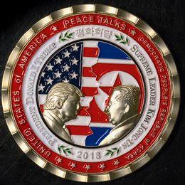 Myntet har präglats av Vita huset inför toppmötet mellan Donald Trump och Kim Jong-Un.