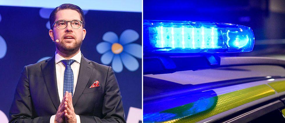 SD vill ge polisen utökade befogenheter