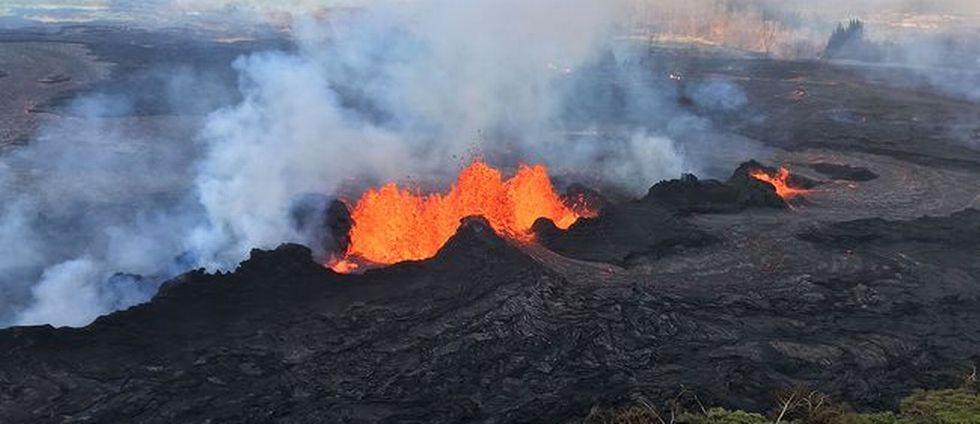 Efter vulkanutbrottet på Hawaii – lava hotar kraftverk