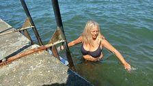 Yvonne Engström visby gotland badar