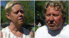 Susanne Persson (S) och Kjell Andersson, ägare av Björkbacka.