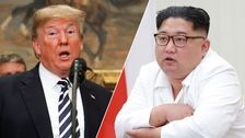 USA:s president Donald Trump och Nordkoreas ledare Kim Jon-Un.